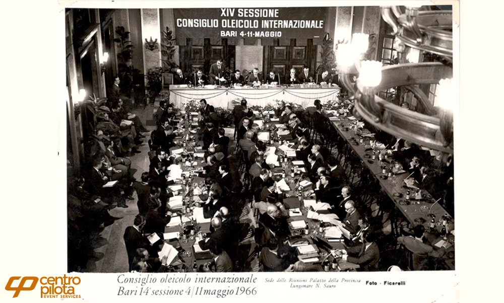 Bari International Olive Council – May 1966
