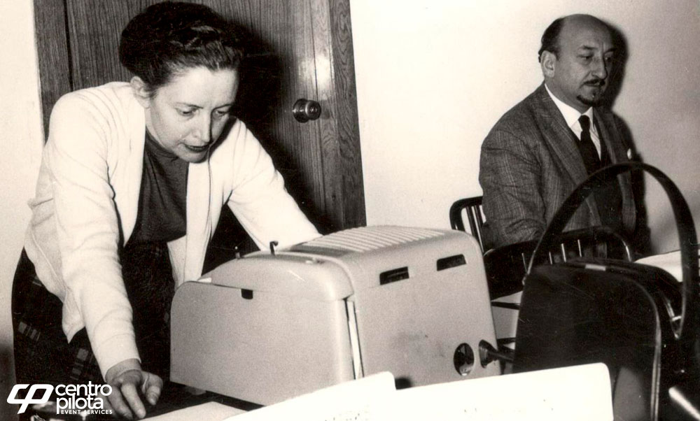First Olivetti Recorder – 1958