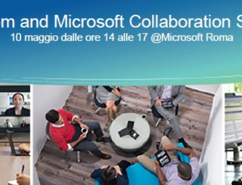 CP Centro Pilota at the Polycom and Microsoft Collaboration Summit, 10 May 2017 @ Microsoft Rome